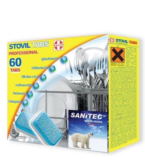 Sanitec Stovil Tabs nõudepesutabletid 60tk/pk Image