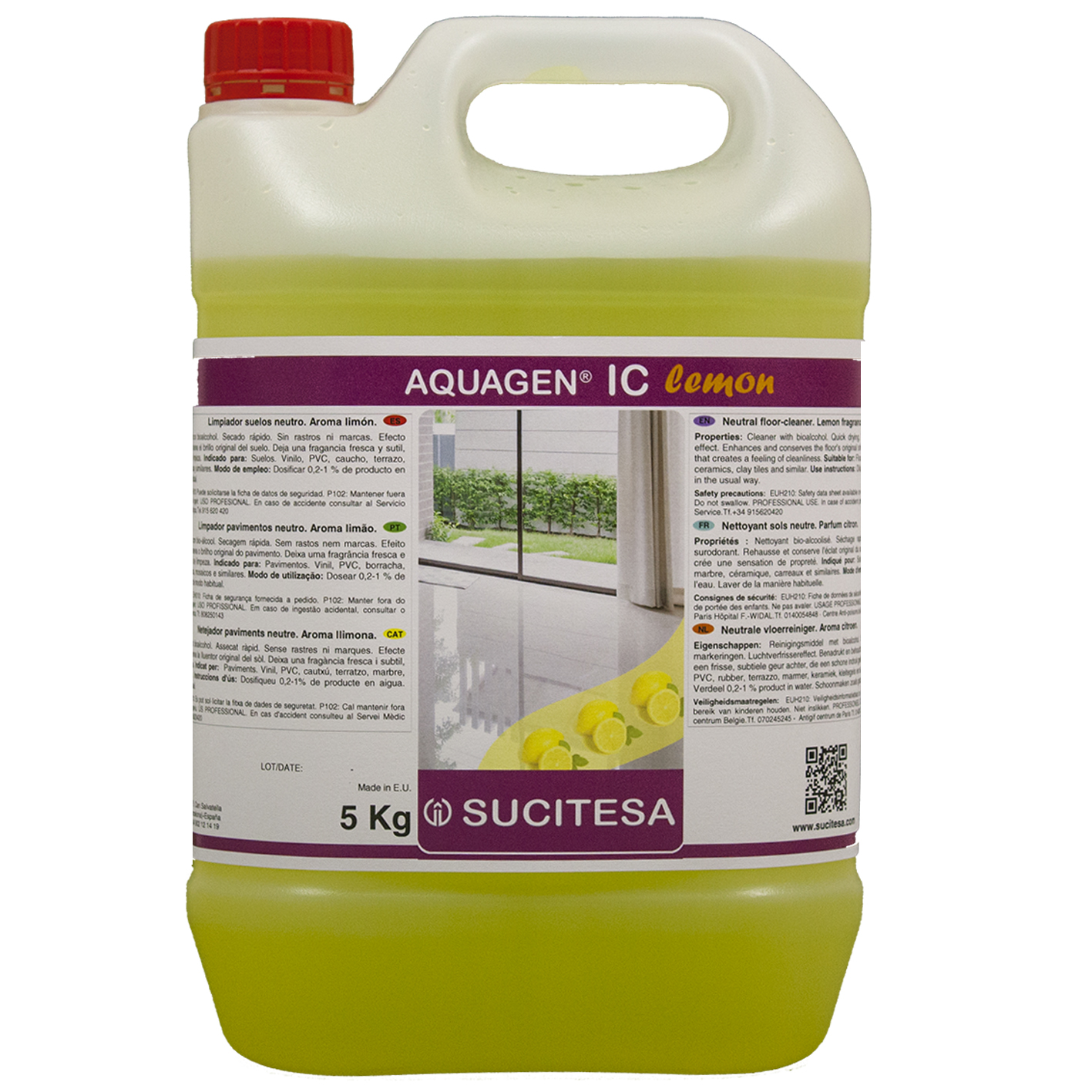 AQUAGEN IC LEMON 5l Image