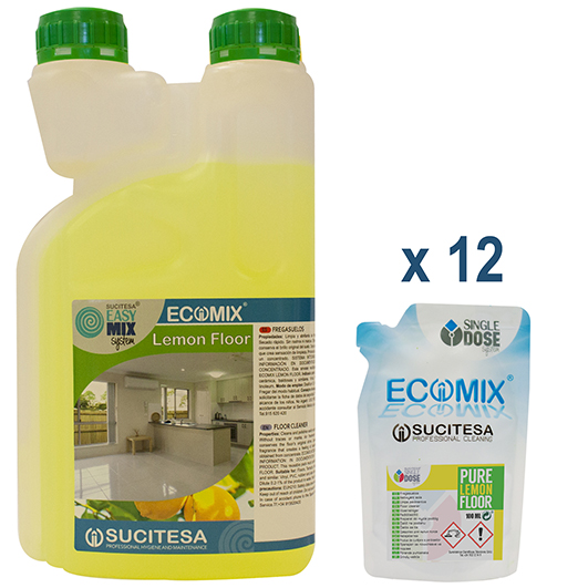 ECOMIX Pure Lemon Floor – 100 ml Image